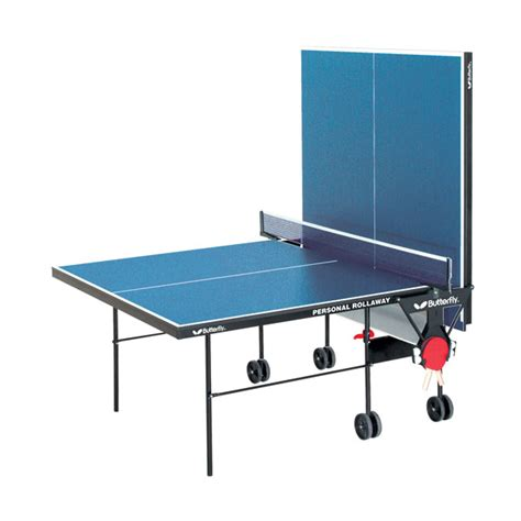 butterfly tr21 personal rollaway ping pong table