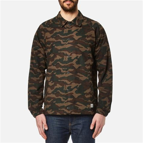 Penfield Howard Jacket penfield s howard camo coach jacket olive free uk delivery 163 50
