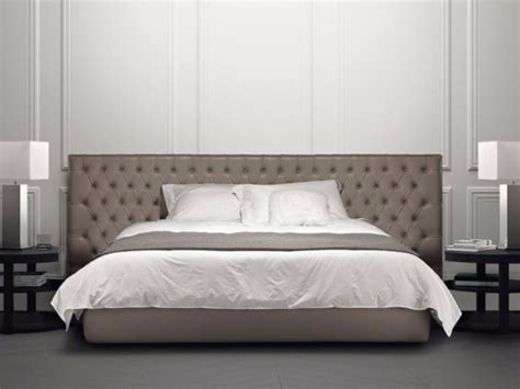 Large Headboard Beds by Bed With Tufted Headboard Jacopo Large By Casamilano