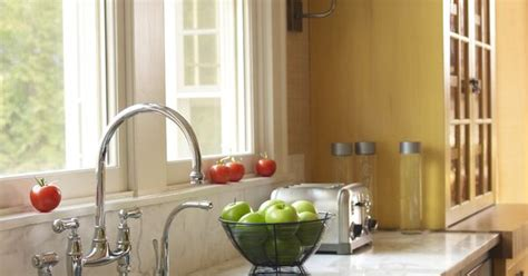 Kitchen Sinks With Faucets Elegant Yet Appropriate Cultivate Com Modern Faucets