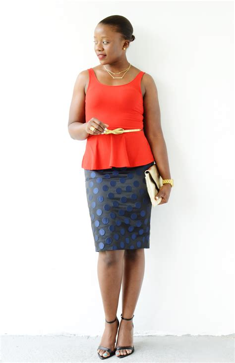 going out with pencil skirt 2