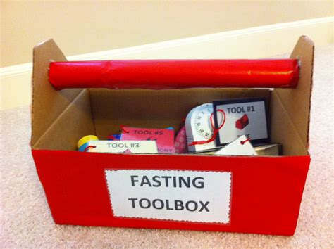 How To Make A Paper Tool Box - pergler s primary place fasting and prayer can strengthen
