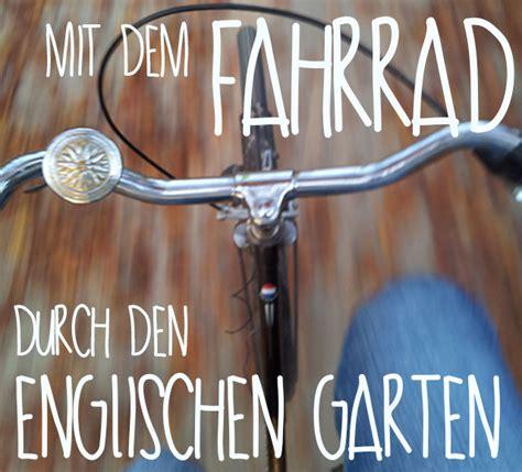 Englischer Garten Fahrrad by Mein T 228 Glicher Weg Durch Den Englischen Garten Bei Wind