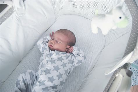 Newborn Baby In Crib by Why We Wouldn T Be Without Our Purflo Bassinet Hello Archie