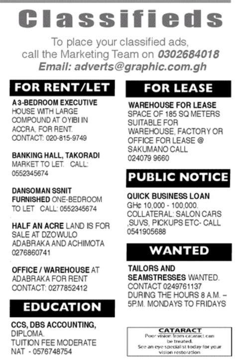 Monday: Advertised jobs in newspapers today