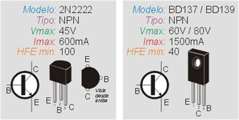 transistor bd139 caracteristicas como controlar un rel 233 con un transistor inventable