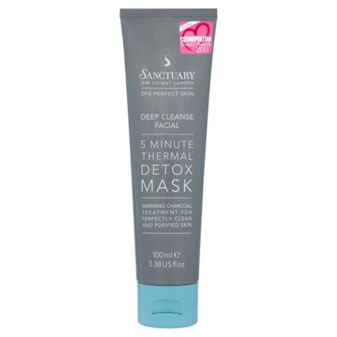 Boots Detox 5 Day Plan by Sanctuary 5min Thermal Detox Mask 100ml Boots 163 11 17