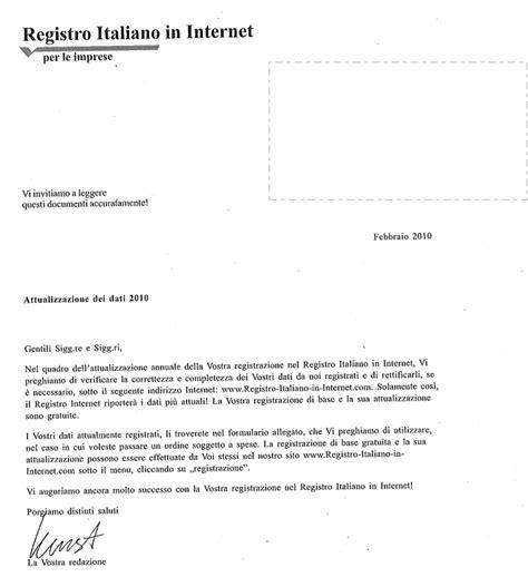 intestazioni lettere commerciali attenzione alle lettere registro italiano in