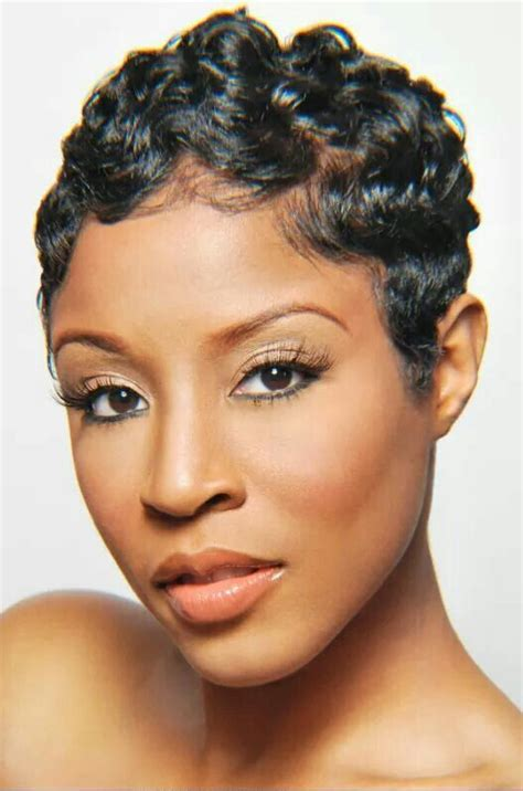 african american short hair cuts with soft waves 1000 ideas about black pixie haircut on pinterest