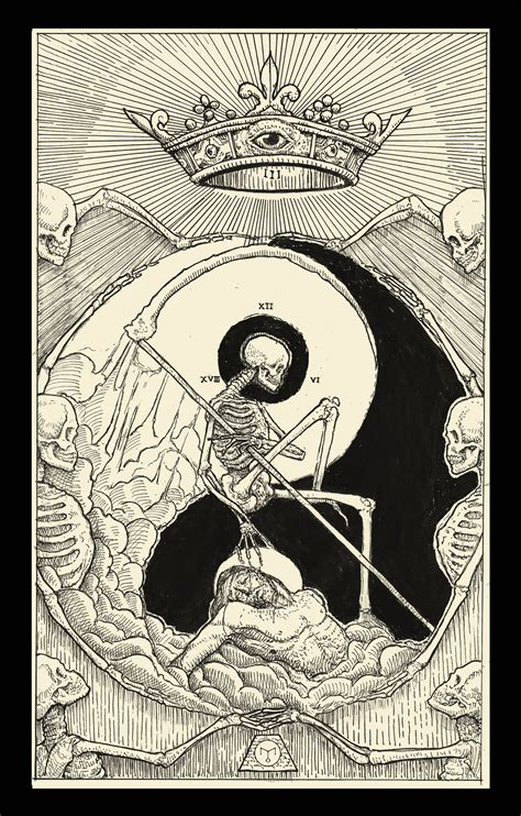 death tarot card by erikemiranda on deviantart