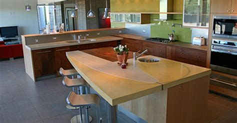 Kitchen Countertop Bar by Bar Countertops The Concrete Network