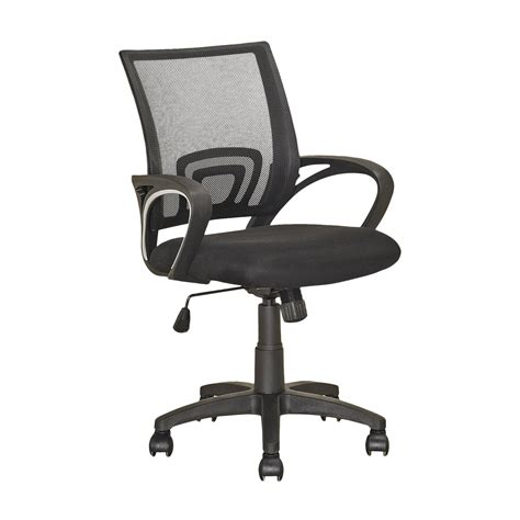 Office Chairs Lowes Corliving Lof 3 Workspace Mesh Back Office Chair Lowe S