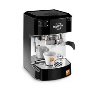 Espresso machine pod star automatic black 499 00