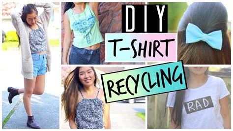 Alte Sachen Neu Gestalten by Diy Ways To Upcycle And Recycle T Shirts And Clothes