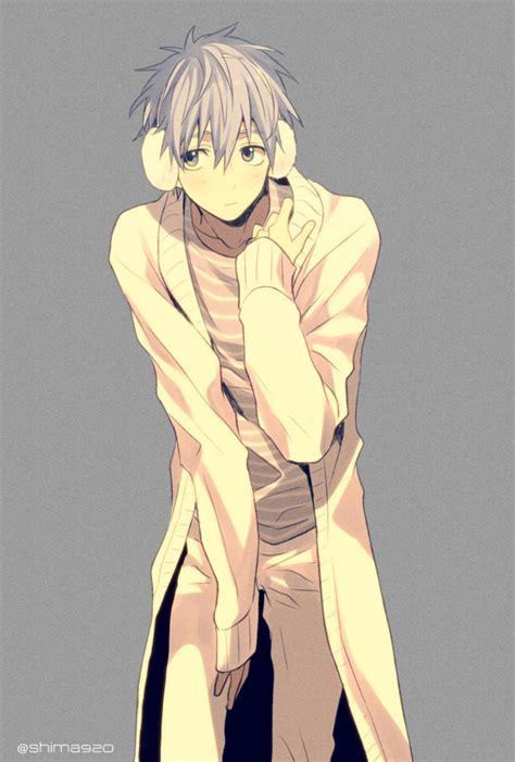 Id 0226 Anime Gray Cardigan Sweater anime picture kuroko no basket production i g kuroko tetsuya mashima shima single image