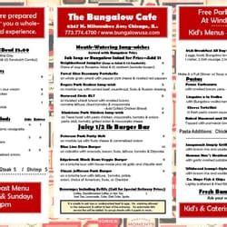 bungalow restaurant menu the bungalow cafe closed 14 photos cafes norwood