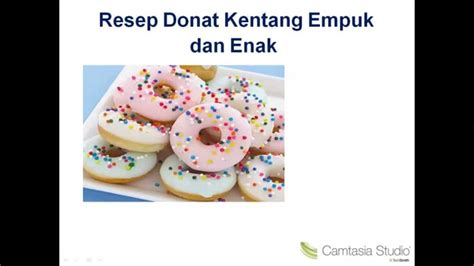 Youtube Video Cara Membuat Donat Kentang | cara membuat donat dari kentang youtube