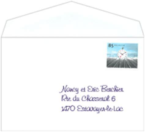 Adresse enveloppe marriage advice