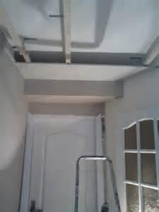 faux plafond placo sur rail plafond la baule