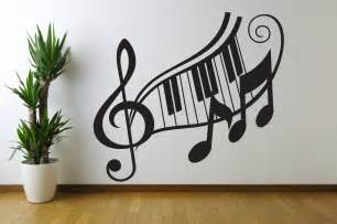 wall decor stickers shopping note treble clef wall decal