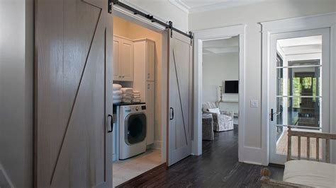Laundry Room barn Door   YouTube