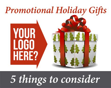 promotional holiday gifts 5 things to