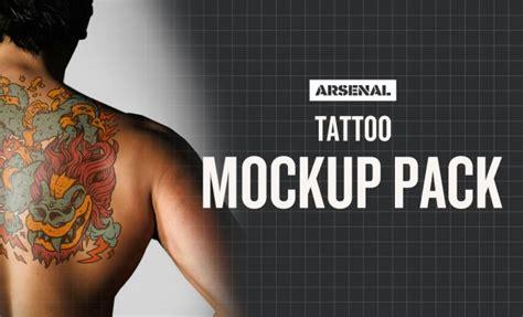 tattoo mockup photoshop templates pack go media tattoo go media arsenal