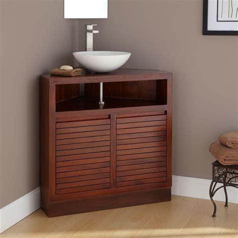 34 quot cuyama mahogany corner vanity bathroom remodel ideas pinterest corner vanity vanities