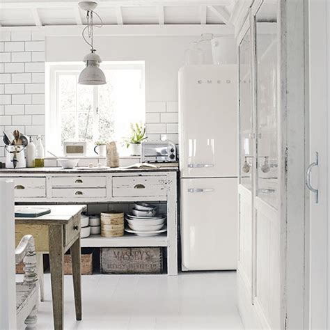 white rustic kitchen freestanding kitchen design ideas decorating housetohome co uk