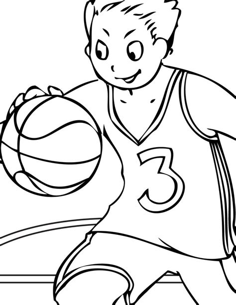 Free Printable Volleyball Coloring Pages For Kids Picture For Colouring For