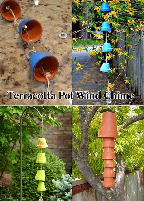clever ideas  adorn garden  yard  terracotta