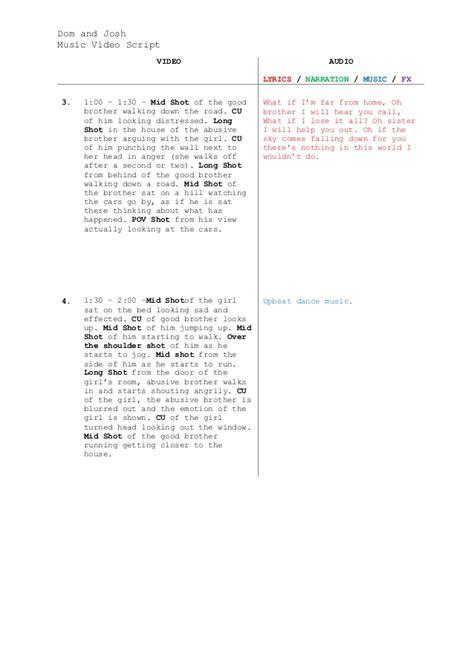 av script template template for script images