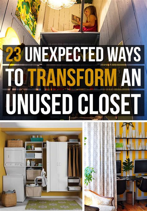 23 ways to transform an closet