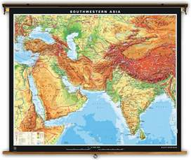 Southwestern Asia Map by Pics Photos Southwest Asia Map Relief Southwestern