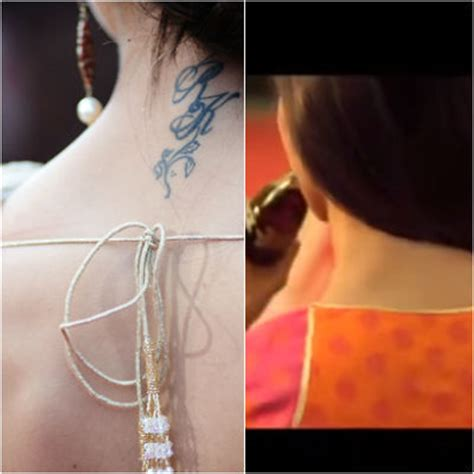 deepika padukone rk tattoo removed deepika padukone s rk mysteriously disappears