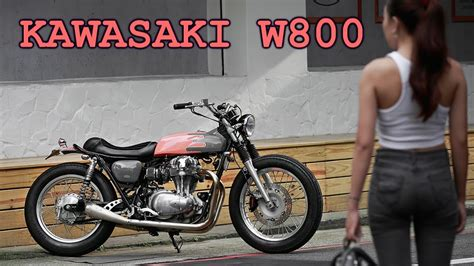 Po Custom 9 kawasaki w800 custom