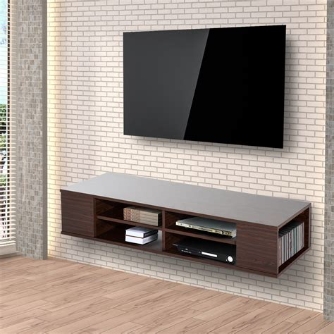 Modern Wall Mounted Tv Units by Modern 47 Floating Wall Mounted Tv Stand Unit Cabinet