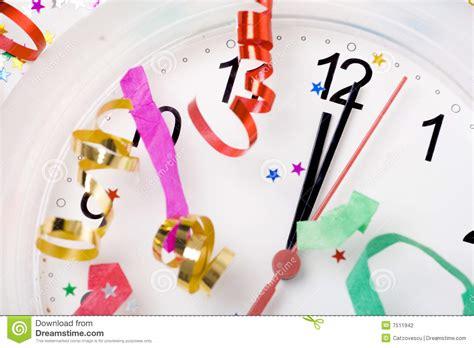 celebrating new year stock photography image 7511942