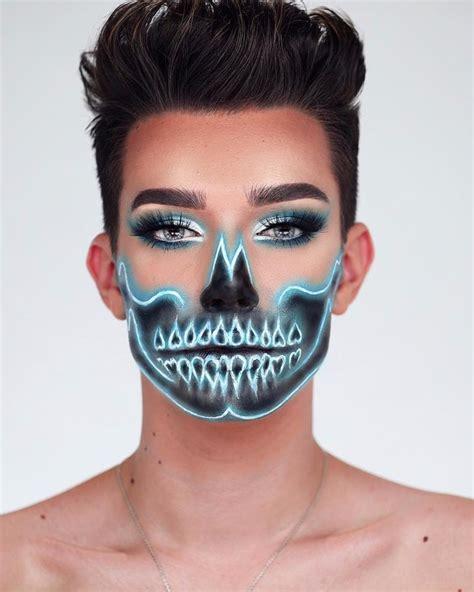 james charles palette uk james charles neon skull popsugar beauty
