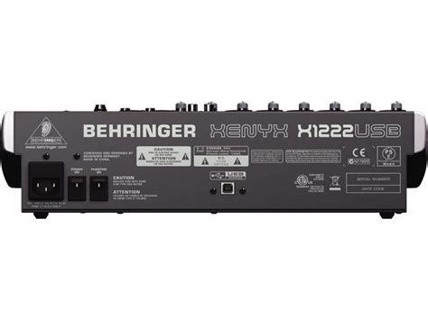Mixer Xenyx X1622usb behringer xenyx x1222usb