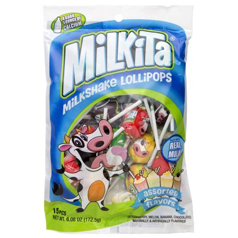 Milkita Lolipop milkita assorted lollipop 15 ct asian asian snacks
