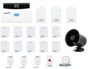 complete home security alarm kits with no monthly fees