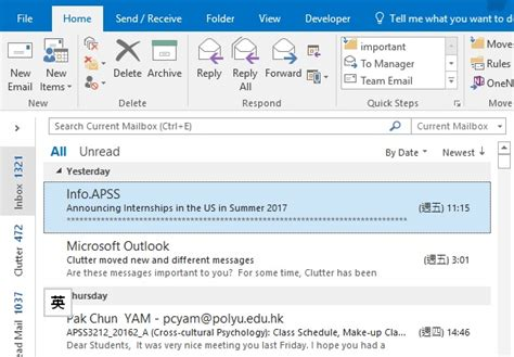 Searching For Emails In Outlook Quickly Search Email In Outlook Using Criteria