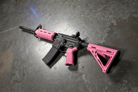 magpul colors new magpul colors stealth gray and pink the firearm