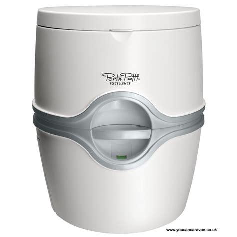thetford porta potti excellence portable caravanning toilet