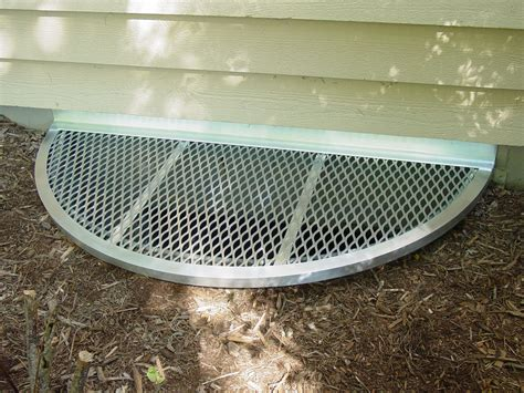 Bubble Window Well Covers Aluminum Window Well Grates