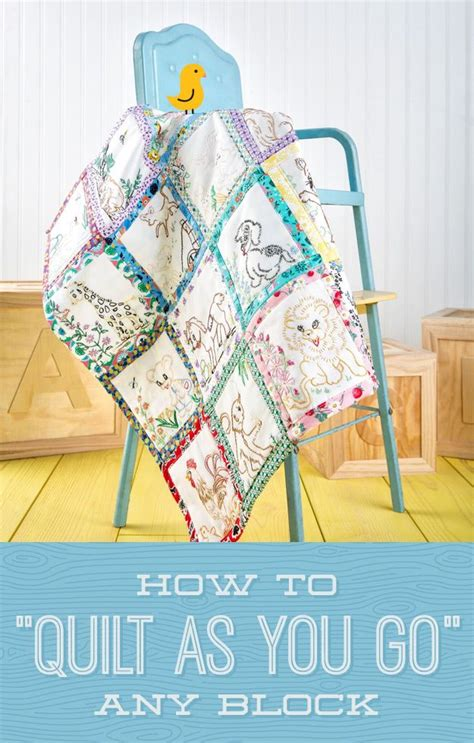 Quilt As You Go Tutorials by New Friday Tutorial How To Quilt As You Go Any Block