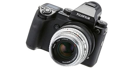 Kamera Fujifilm Gfx 50s novoflex bringt objektivadapter f 252 r fujifilm gfx 50s