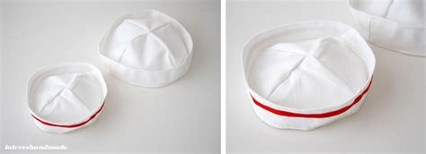 How To Make Paper Sailor Hat - handmade maritime theme decor luloveshandmade