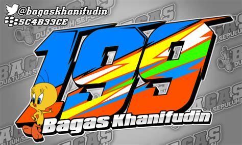 design nomor start bagas khanifudin design nomor start via android
